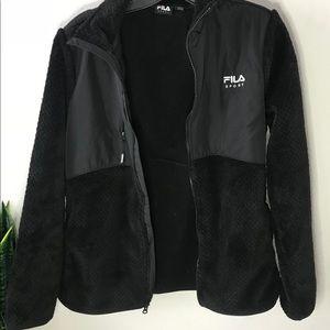 Faux Fur Full zip jacket